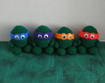 Turtle Ninja Egglets