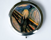 The Scream Compact Mirror Pocket Mirror fine art painting