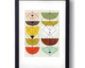 Giclee Print (item No. P-2011-12) tulips