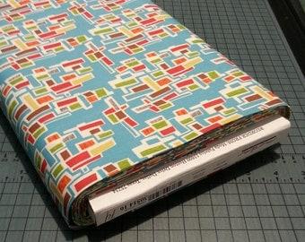 Sale - Mod-Century brick fabric