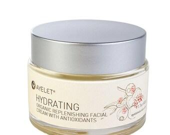Hydrating Face Cream| Face Cream Hyaluronic Acid| Dry Skin Face Cream| Natural Face Cream| Wrinkle Cream| Neck Décolletage Cream| Organic