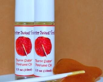 Burnt Sugar Handmade Perfume Oil Roll-On
