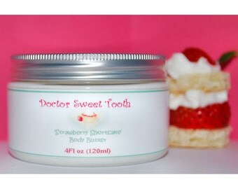 Strawberry Shortcake Body Butter (Paraben Free)