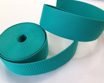 "Polypro WEBBING - 2"" Wide - Turquoise"