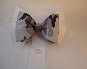 Urban Camo Bow Tie