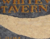 Rug Hooking PATTERN The White Whale Tavern