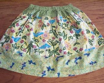 Summer Skirt for Girls Twirl Skirt Size 6 or 7 Free Shipping