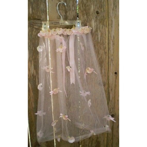 Faerie costume apron fairy skirt women's floral accessory flower girl renaissance costume dress up