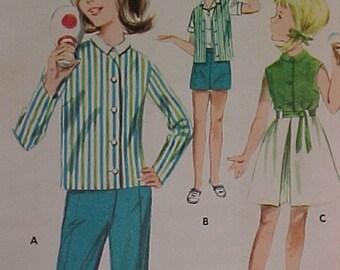 Butterick Pattern 2687 Girls sz 6