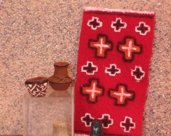 Handmade OOAK miniature Southwestern pottery Set #1