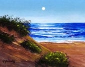 Sand Dune ACEO Folk Art PRINT of Todd Young painting