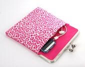 Pink Leopard Print iPad case / iPad cover / iPad sleeve / iPad retina case / iPad 2 case