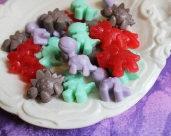Mini Dinosaur Soap Set - Dino Soap, Chocolate Scented, Party Favors, Soap Favors, Boys Soap, Kids Bath, Arlo, Birthday Favors, Fun Bath Soap