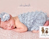 50% OFF Original Newborn Petti Romper Limited Edition Light Grey by Chic Baby Rose Great Photo Prop