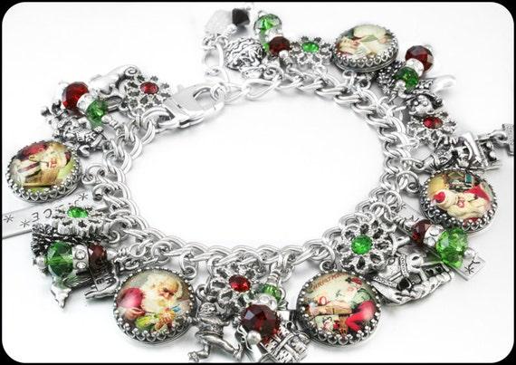 santa-charm-bracelet-christmas-jewelry