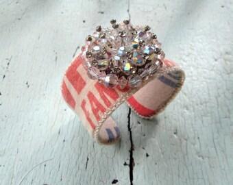 Eco Friendly Repurposed Cuff