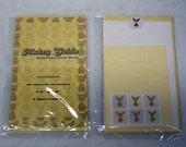 Chihuahua Dog Stationery Set novelty note paper card stickers envelope