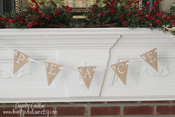 il_570xn - Burlap Christmas Banner