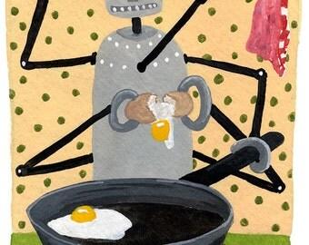 Fried Egg Robot