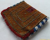 Afghanistan: Vintage Embroidered Pashtun Wallet or Pouch, Item E61