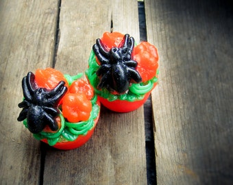 Spider Patch Halloween Soap Tart - the perfect teacher gift!