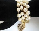 Kelly Street Pearl Bracelet (Inspired by Grace Kelly in 'Rear Window')