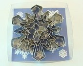 8 Piece Snowflake Cookie Cutter Set