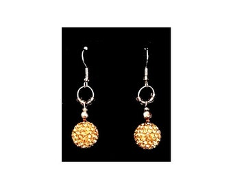 gold earrings, crystal jewelry, crystal earrings, pave jewelry, gold pave earrings, sparkly gold earrings, pave earrings, gold and silver