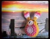 Pocket friend - Bunny Amigurumi #1 - limited edition