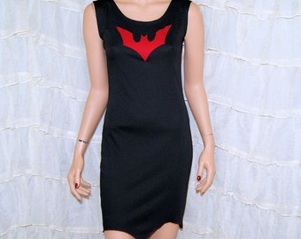 Bat BodyCon Tank Dress Cosplay Costume Adult Medium MTCoffinz - Ready to Ship
