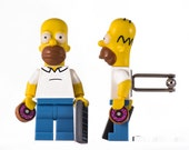 LEGO Cufflinks - Homer Simpson