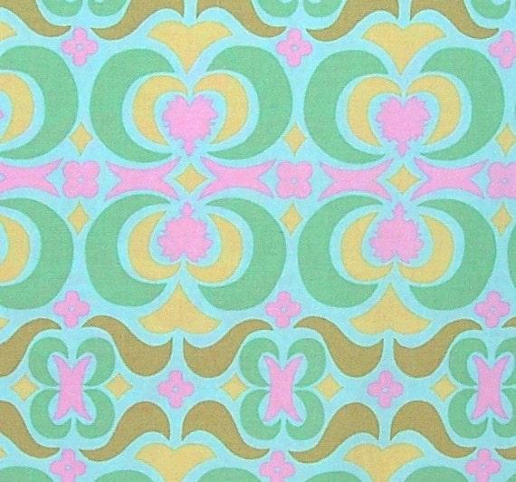 Amy Butler Fabric Midwest Modern 2 Garden Maze Sky Green
