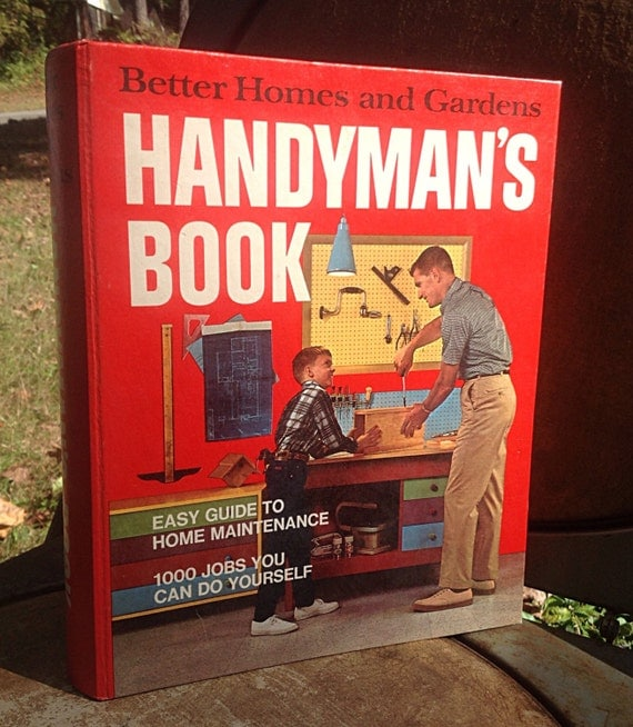 Vintage better homes and gardens handyman 39 s book 1970 by - Vintage better homes and gardens cookbook ...