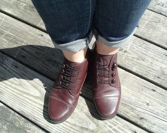 Vintage sporto ankle boot shoe