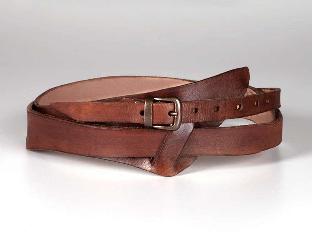 leather wrap belt hancrafted leather belt wide leather