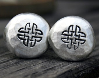 Cufflinks - Cuff Links - Celtic Knot