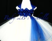 Cobalt Blue Flower Girl D...