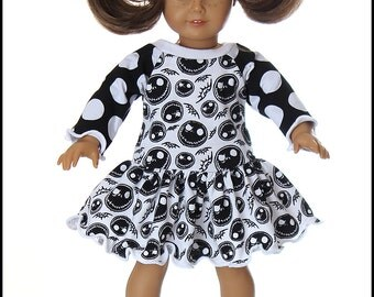 18 inch American Girl Bitty Baby Doll Clothes Jack Flutter twirl dress