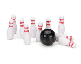 Miniature Bowling Set