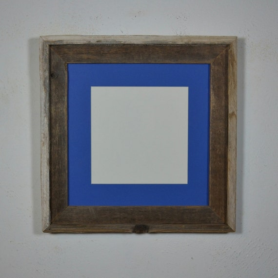 12x12 Frame With Mat For 8x8 Or 10x10 Contrasting Patina