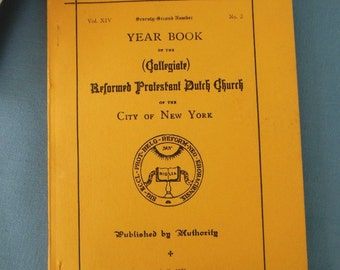 Collegiate Church Year Book 1951