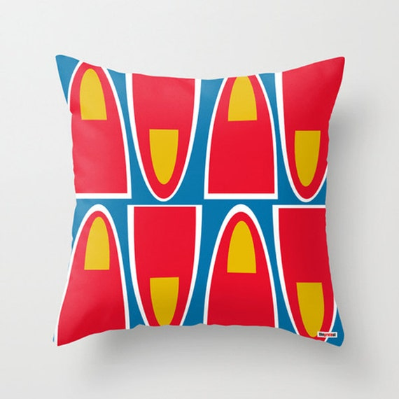 Scandinavian Design Throw Pillows : Scandinavian Decorative throw pillow cover Colorful by TheGretest