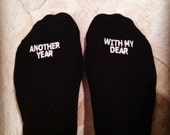 Happy Anniversary Socks 'Another Year, With My Dear' Men's Anniversary Gift Idea, to Husband from Wife, Anniversary present