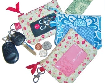 Clear View ID Key Chain Wallet PDF Instant Download Sewing Pattern