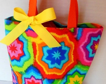 Tie Dye Purse/Gift Bag/Tote