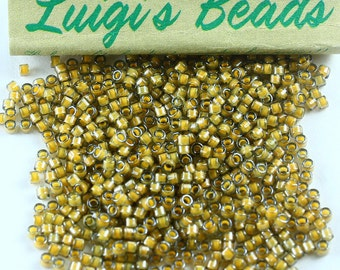 11/0 Miyuki Delica Glass Seed Beads DB2046-Luminous Warm Almond 5g