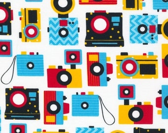 "1 yard 32"" Camera fabric -- This & That from Robert Kaufman by Ann Kelle"