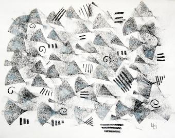 "Original signed art, Drawing 94 (9""x 12"")"