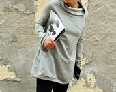 Tunic sweatshirt , women's clothing,long sweatshirt,fashion sweatshirt,sweaters,women's sweater,women's tunic dress,sweatshirt dress