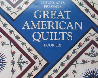 Great American Quilts Pattern Book